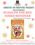 Drive-in Movie theater - Rudolph